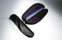 "pen case ""Twist"" black"